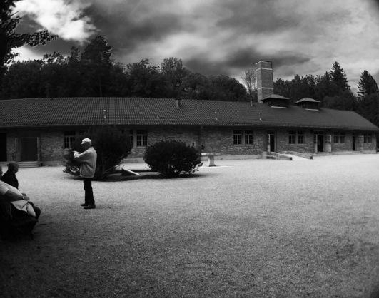 Outside of the crematorium
